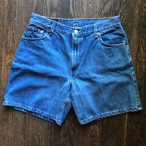 Vintage Levi's 647 High Waisted Shorts